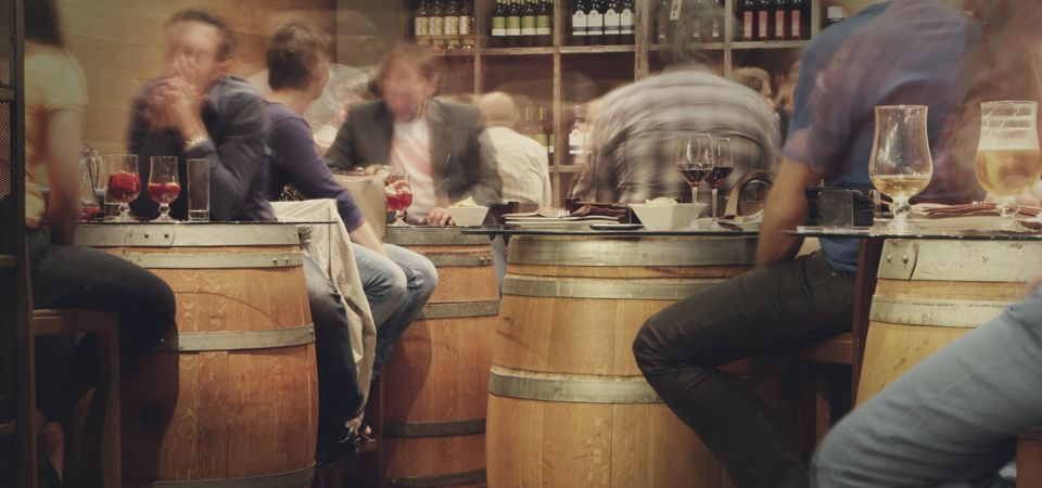 full winery tasting room