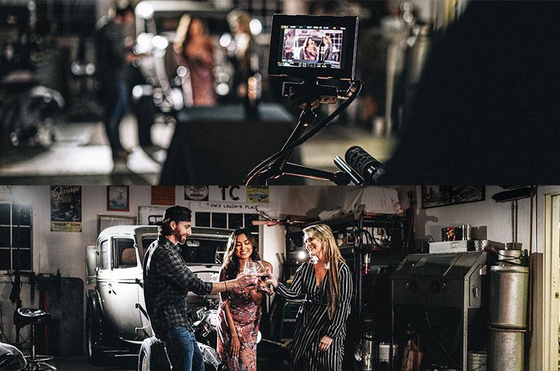 wine tasting behind the scenes video